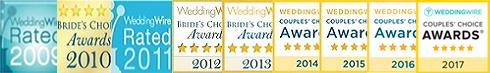 WeddingWire Couples' Choice Awards